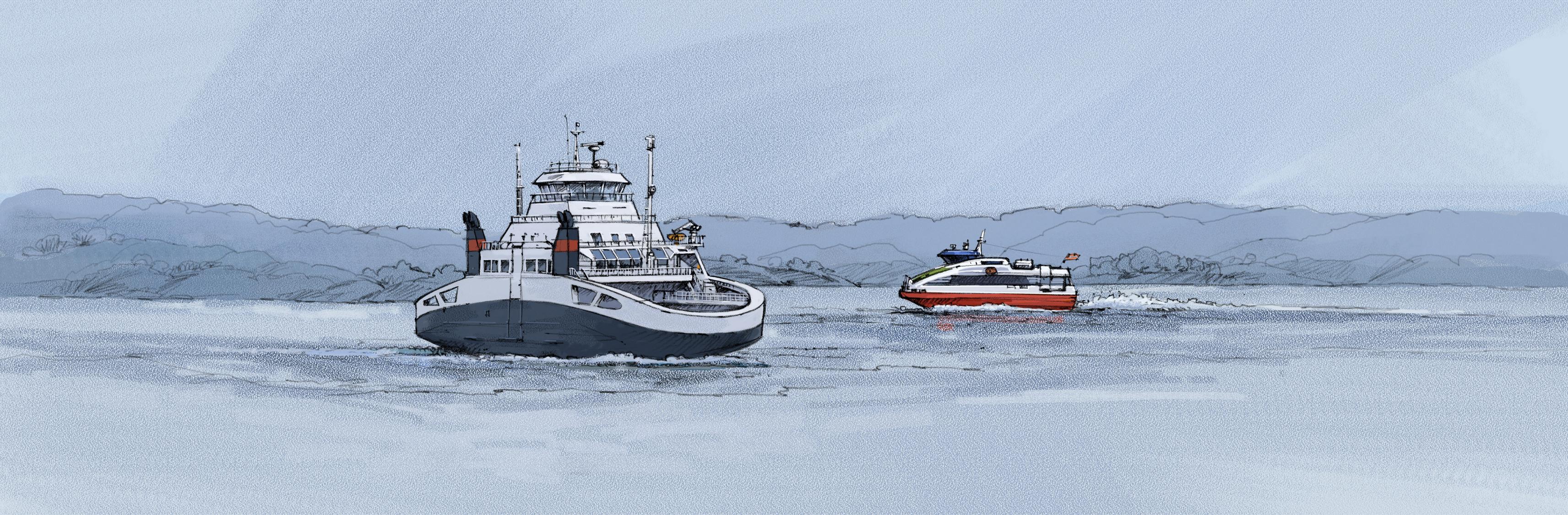 Sikkerhetsstyring ISM og vedlikeholdsystem, programmer tilpasset passasjer båter og ferjer