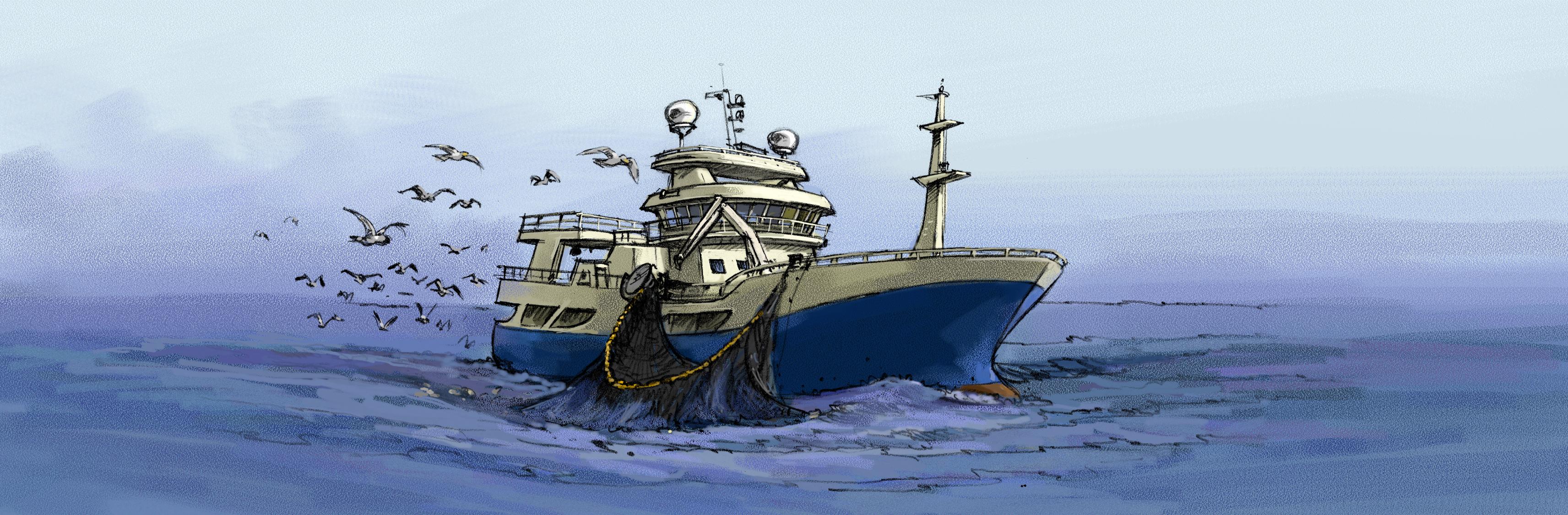 Sikkerhetsstyring ISM og vedlikeholdsystem, programmer tilpasset fiskebåter trålere